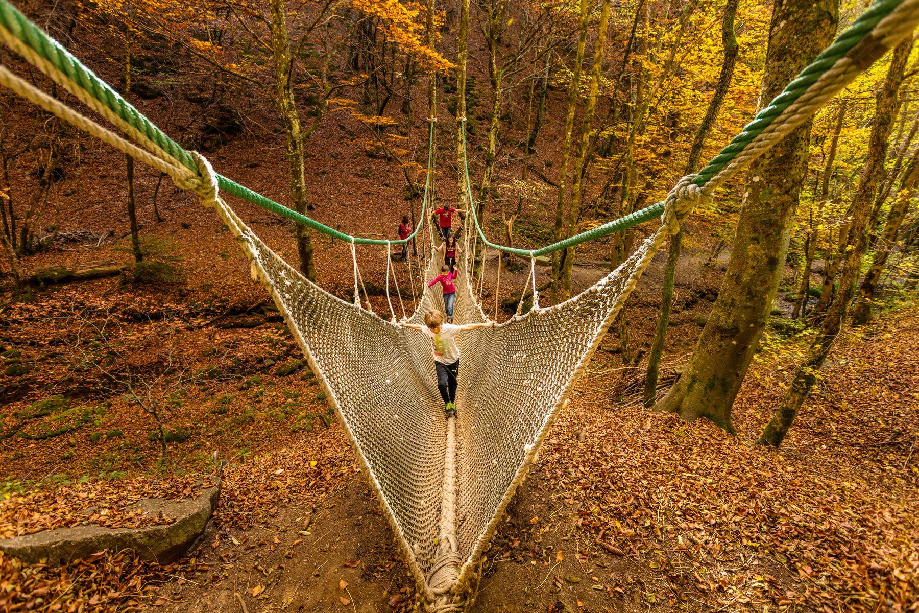 Pleine nature, détente et découverte artistique vous attendent au Vallon du Villaret à Bagnols les Bains, Lozère